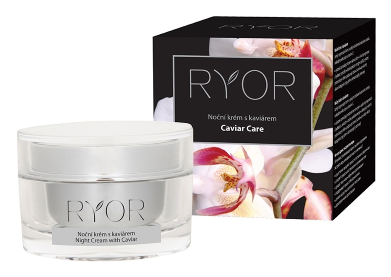 RYOR Caviar Care nočna krema za obraz