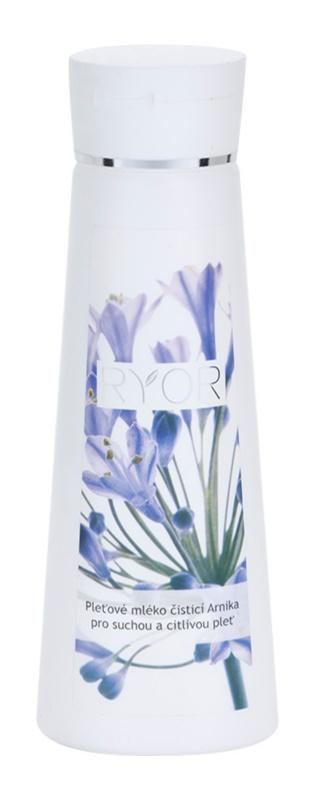 RYOR Cleansing And Tonization čisticí mléko Arnika pro suchou a citlivou pleť