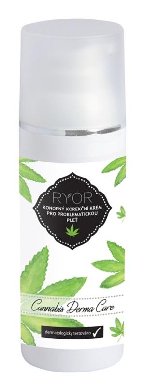 RYOR Cannabis Derma Care krem z konopii korekcyjny do skóry problemowej