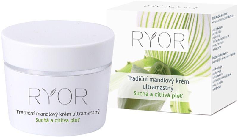 RYOR Dry And Sensitive crema tradicional de almendras extra grasa