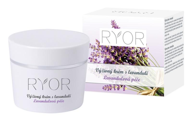 RYOR Lavender Care výživný pleťový krém