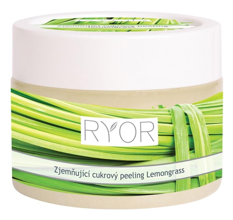 RYOR Lemongrass Zuckerpeeling für zarte Haut für den Körper