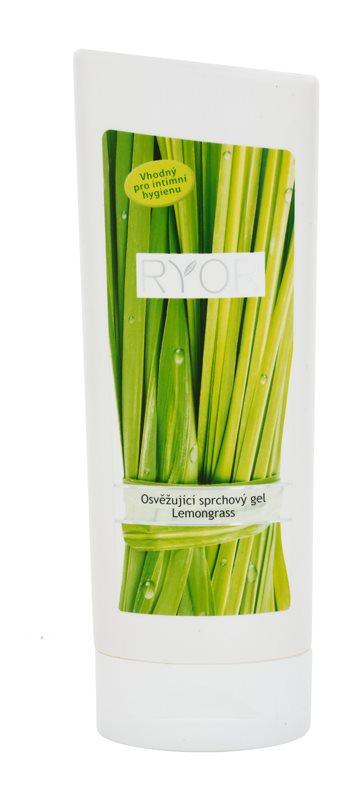 RYOR Lemongrass osvěžující sprchový gel