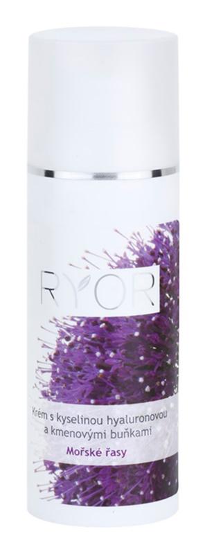 RYOR Marine Algae Care crema con ácido hialurónico y células madre