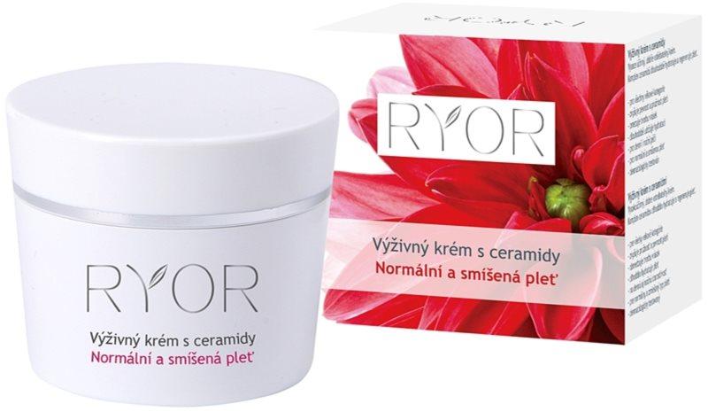 RYOR Normal to Combination výživný krém s ceramidmi