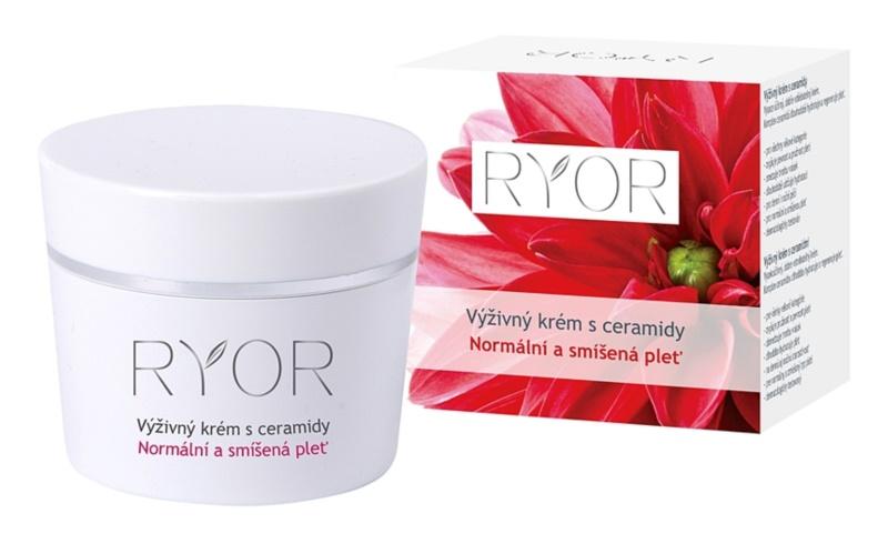 RYOR Normal to Combination výživný krém s ceramidy