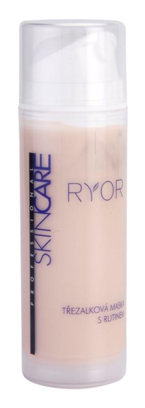 RYOR Skin Care Johanniskraut-Maske mit Rutin für geweitete und geplatzte Venen