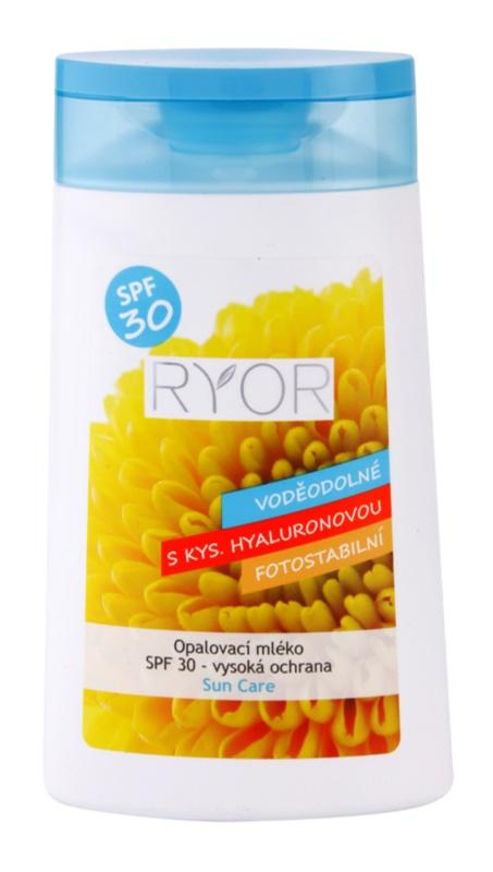 RYOR Sun Care opalovací mléko SPF30
