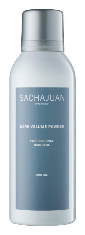 Sachajuan Styling and Finish puder nadający objętość ciemnym włosom