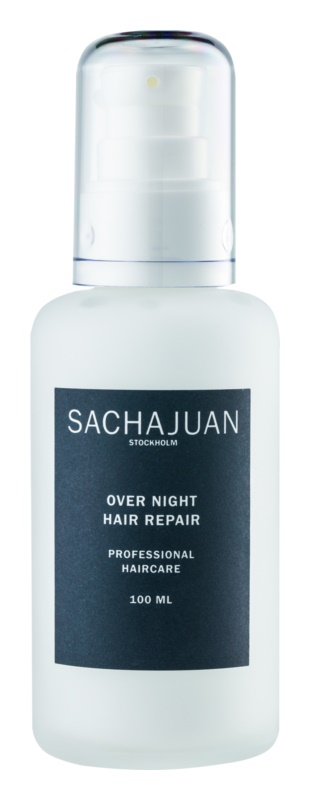 Sachajuan Cleanse and Care Hair Repair émulsion de nuit rénovatrice