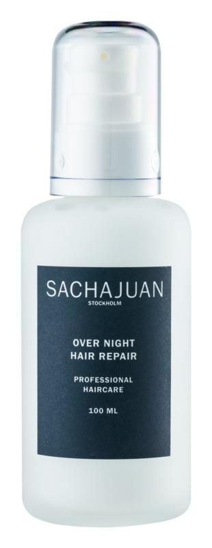 Sachajuan Cleanse and Care Hair Repair nočná obnovujúca emulzia