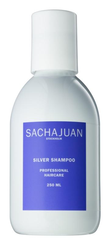 Sachajuan Cleanse and Care Silver šampón neutralizujúci žlté tóny