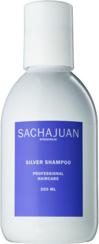 Sachajuan Cleanse and Care Silver shampoo die gele tonen neutraliseert