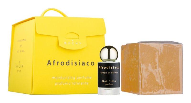 S.A.C.K.Y. Afrodisiaco feuchtigkeitsspendendes Parfüm  unisex 150 g  + Parfümextrakt 5 ml