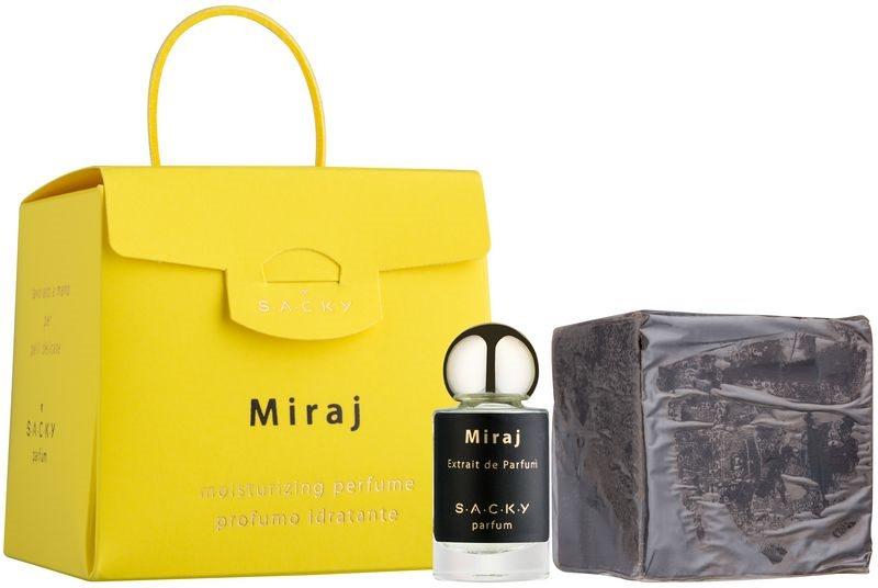 S.A.C.K.Y. Miraj parfum hidratant unisex 150 g  + Extract de parfum 5 ml