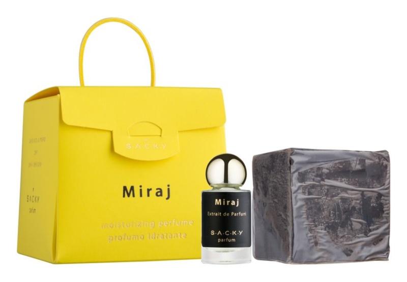 S.A.C.K.Y. Miraj parfum hydratant mixte 150 g  + extrait de parfum 5 ml