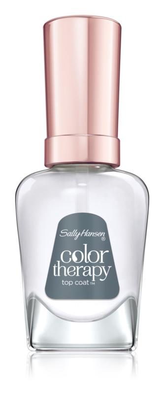 Sally Hansen Color Therapy vrchný lak na nechty s arganovým olejom