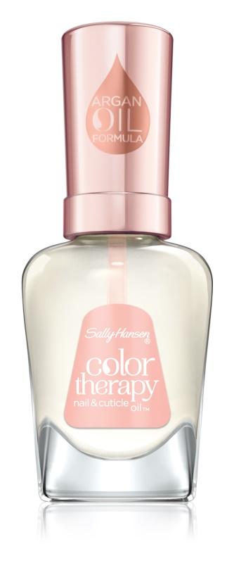 Sally Hansen Color Therapy olje za zdrave nohte in obnohtno kožico z arganovim oljem