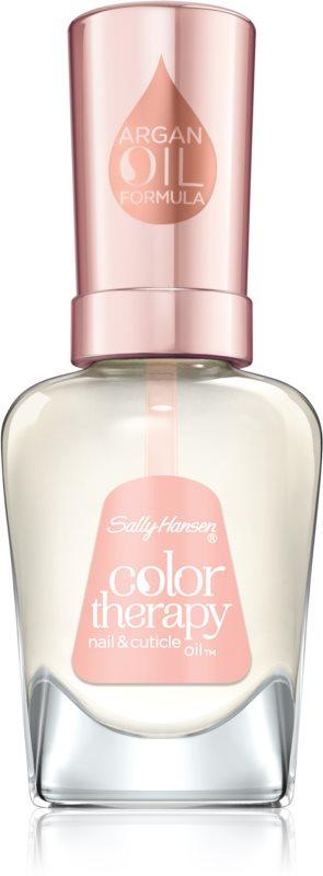 Sally Hansen Color Therapy Ulei pentru unghii si cuticule sanatoase cu ulei de argan