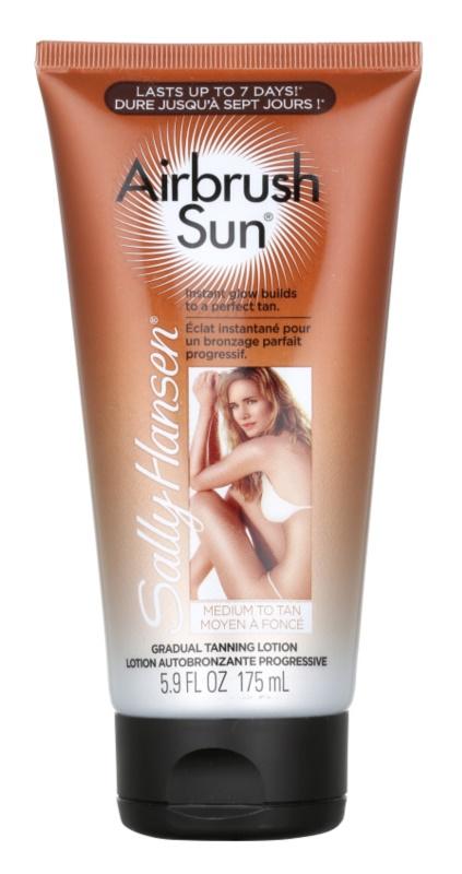 Sally Hansen Airbrush Sun Self Tanning Body and Face Lotion
