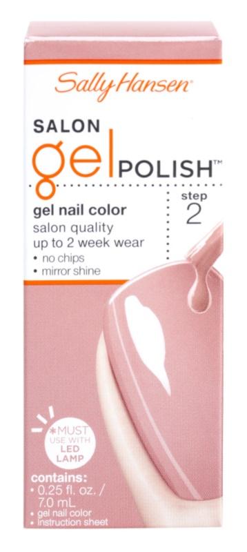 Sally Hansen Salon гелевий лак для нігтів