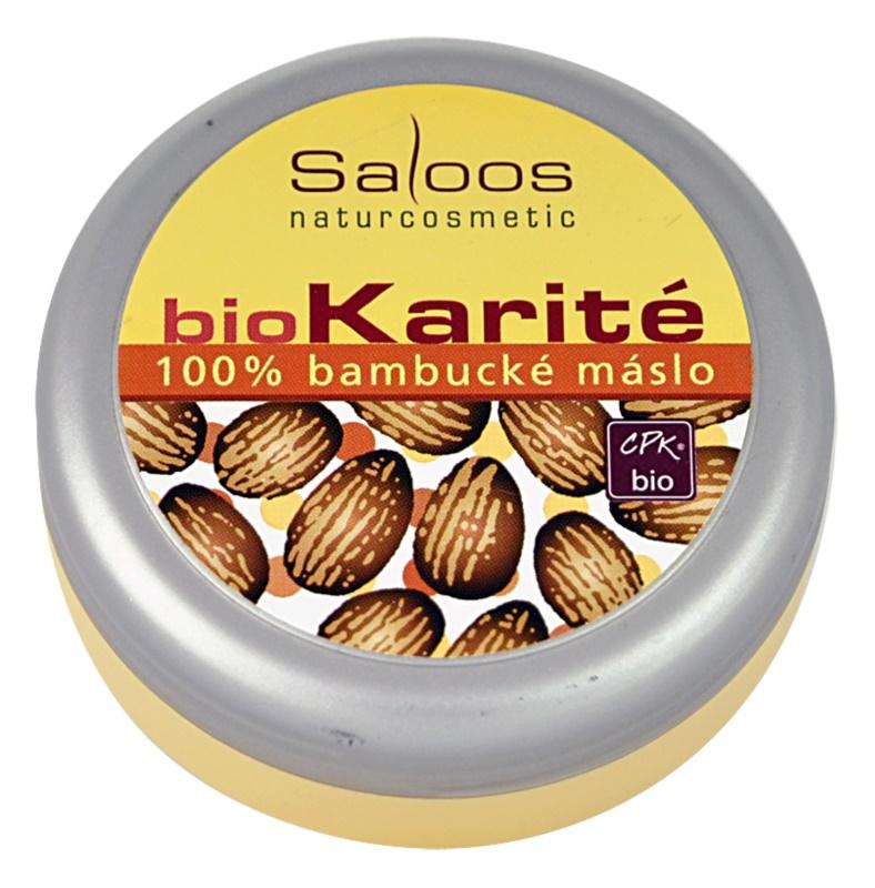 Saloos Bio Karité бамбукова олія