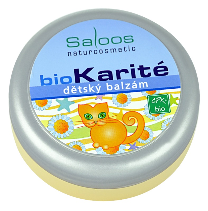 Saloos Bio Karité balsam pentru copii