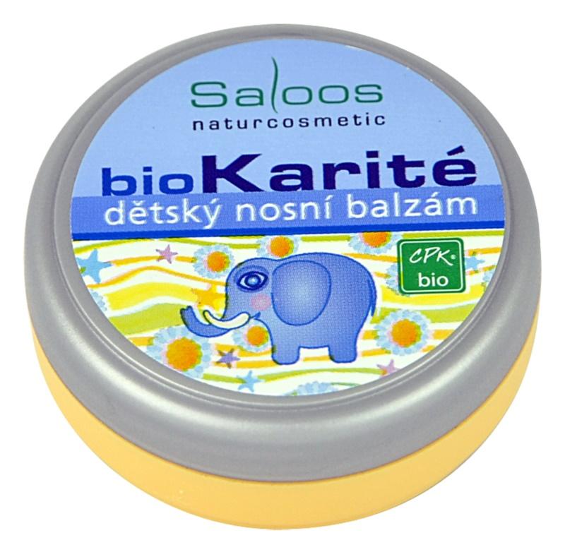 Saloos Bio Karité Nasenbalsam für Kinder