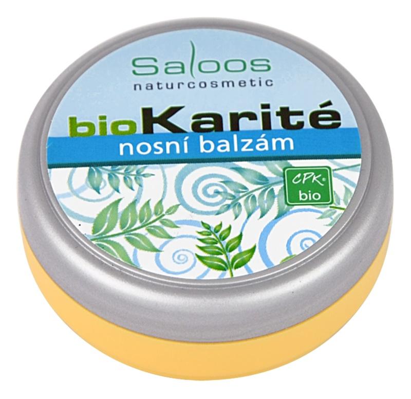 Saloos Bio Karité nosný balzam