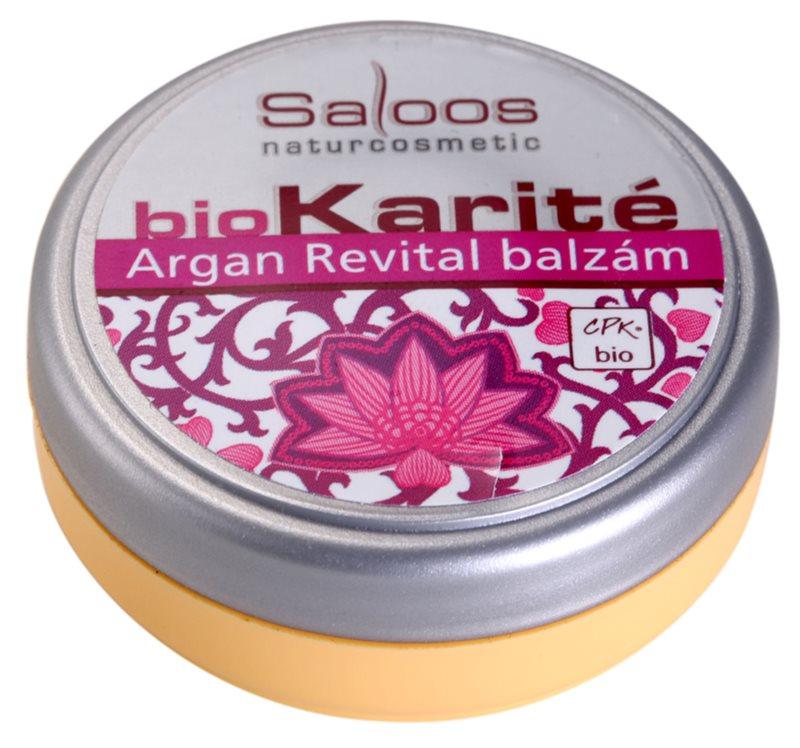 Saloos Bio Karité balsam Argan Revital
