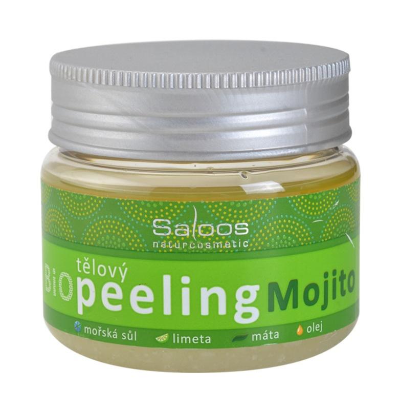 Saloos Bio Peeling пілінг для тіла мохіто