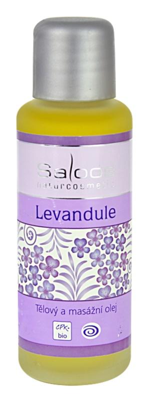 Saloos Bio Body and Massage Oils telový a masážny olej Levanduľa