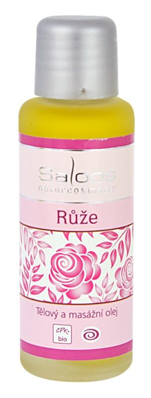 Saloos Bio Body and Massage Oils telový a masážny olej Ruža
