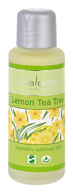 Saloos Make-up Removal Oil olje za odstranjevanje ličil Limona Tea Tree
