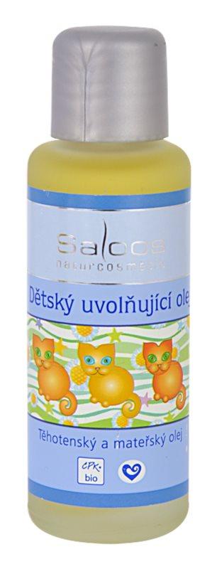 Saloos Pregnancy and Maternal Oil ulei de relaxare pentru copii
