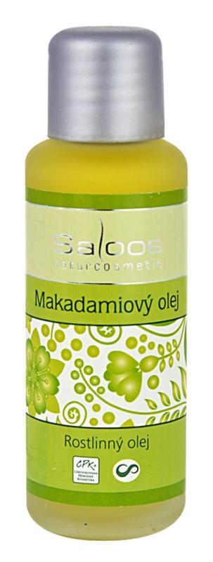 Saloos Oleje Lisované za studena makadamiový olej