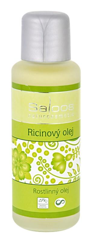 Saloos Oleje Lisované za studena ricinový olej na obličej a tělo