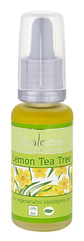 Saloos Bio Regenerative Lemon Tea Tree Organic Regenerating Facial Oil