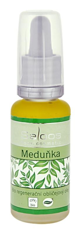 Saloos Bio Regenerative bio regeneracyjny olejek do twarzy Melisa