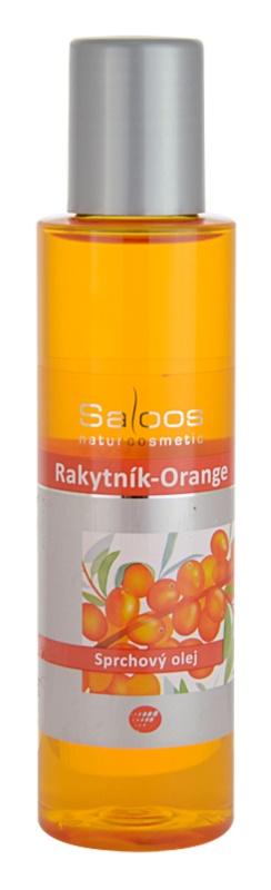 Saloos Shower Oil ulei de duș cu cătină și portocale