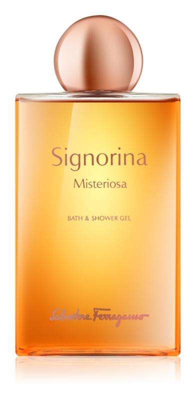 Salvatore Ferragamo Signorina Misteriosa sprchový gel pro ženy 200 ml