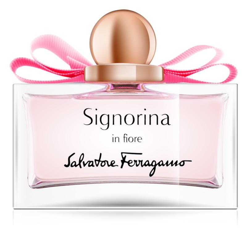 Salvatore Ferragamo Signorina in Fiore Eau de Toilette Damen 50 ml