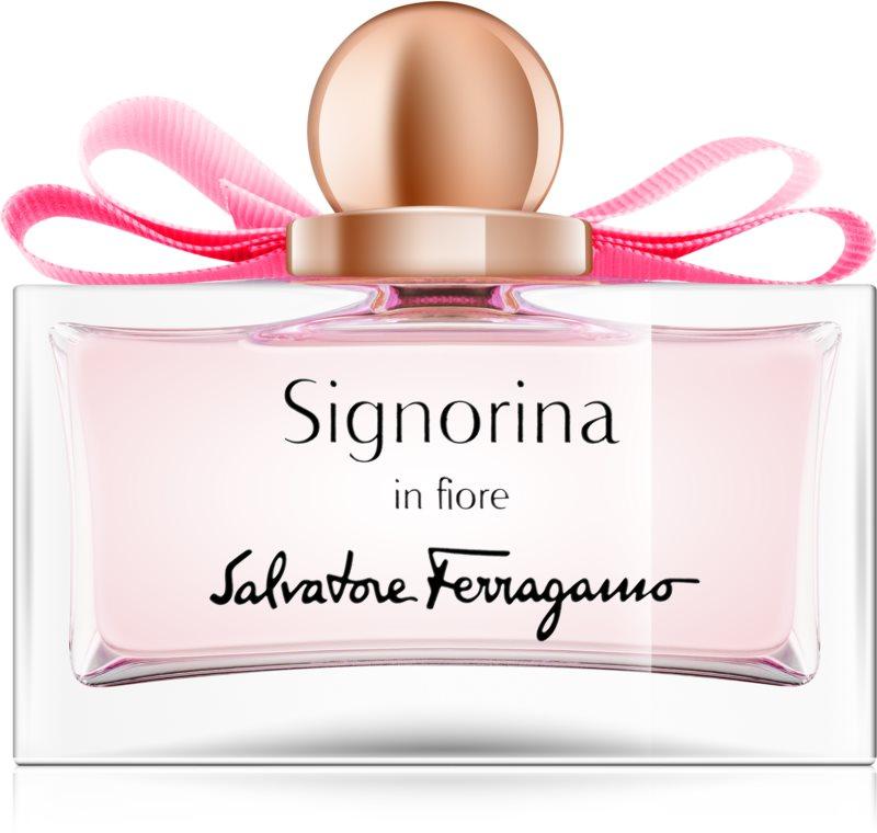 Salvatore Ferragamo Signorina in Fiore Eau de Toilette für Damen 50 ml