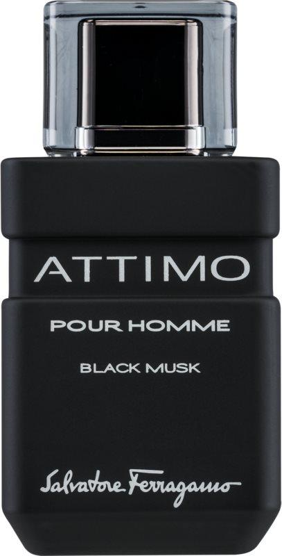 Salvatore Ferragamo Attimo Black Musk Eau de Toilette for Men 100 ml
