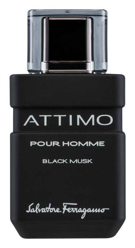 Salvatore Ferragamo Attimo Black Musk Eau de Toilette para homens 100 ml