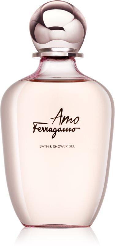 Salvatore Ferragamo Amo Ferragamo sprchový gél pre ženy 200 ml