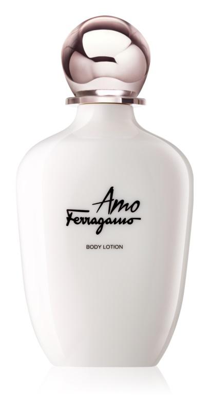 Salvatore Ferragamo Amo Ferragamo lapte de corp pentru femei 200 ml