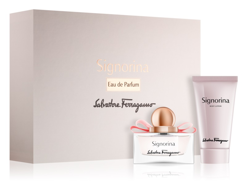 Salvatore Ferragamo Signorina Geschenkset VII.