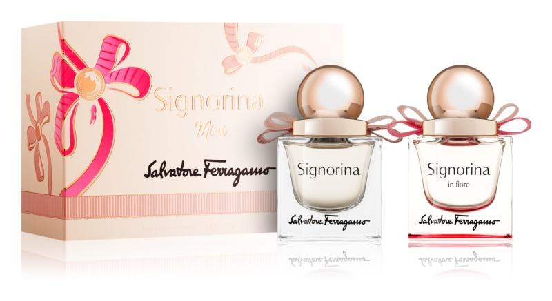 Salvatore Ferragamo Signorina подарунковий набір IX.
