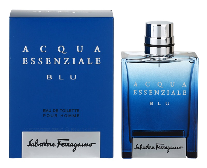 Salvatore Ferragamo Acqua Essenziale Blu Eau de Toilette for Men 100 ml